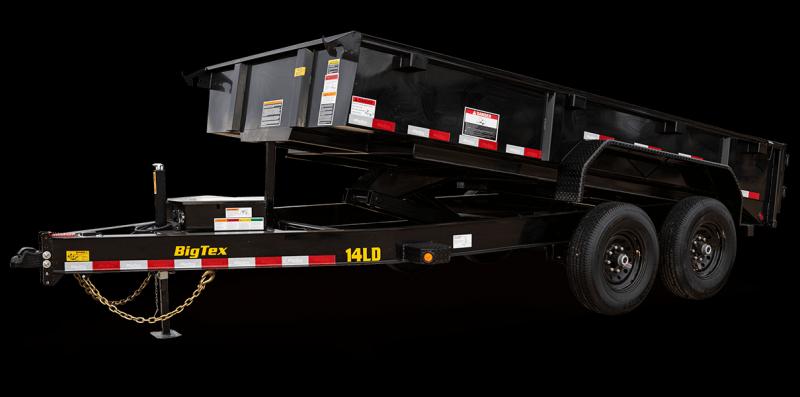 2022 Big Tex Trailers 14LX 83 X 12 with 4' sides Dump Trailer