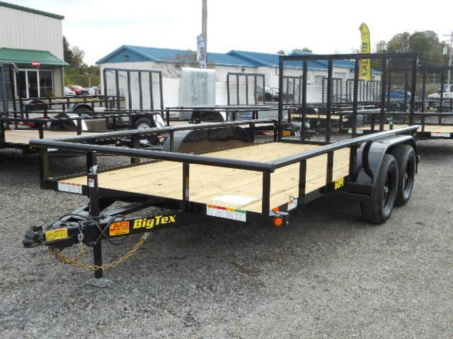 2021 Big Tex Trailers 60PI 77'' X 14 Utility Trailer