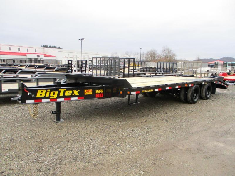 2021 Big Tex Trailers 22PH 102 X 20+5 Equipment Trailer