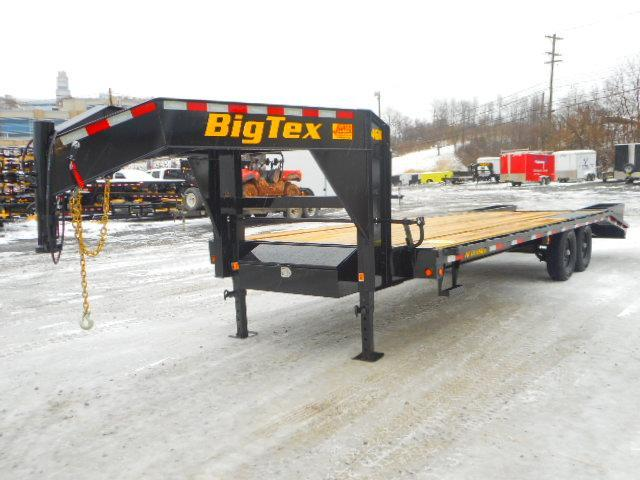 2021 Big Tex Trailers 14GN 102 X 20+5 Equipment Trailer