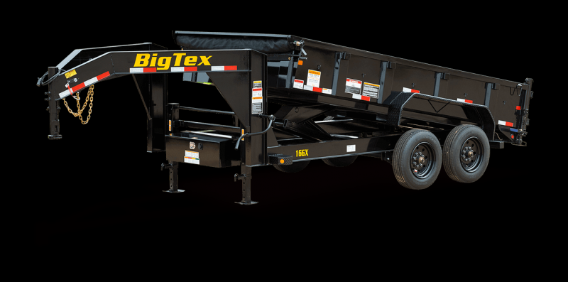 2022 Big Tex Trailers 16GX Gooseneck 83 X 14 Dump Trailer