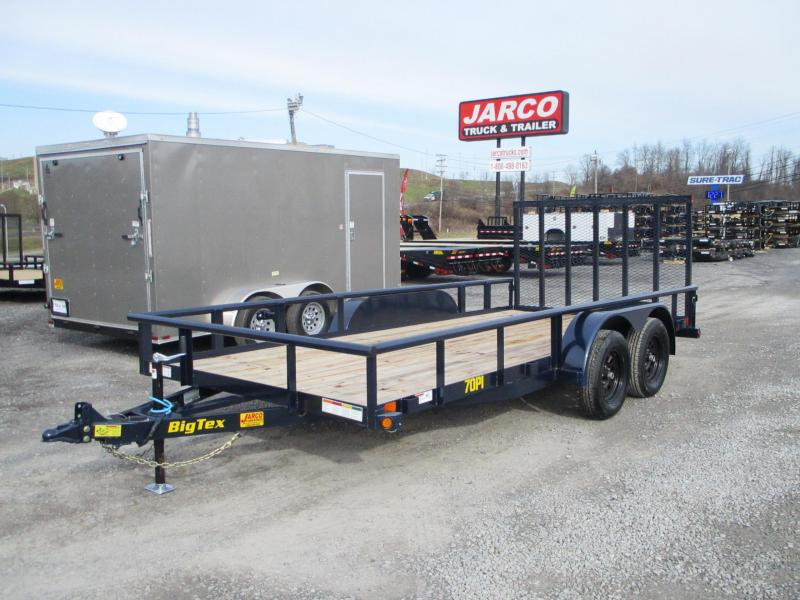 2021 Big Tex Trailers 70PI 83 X 20 Utility Trailer