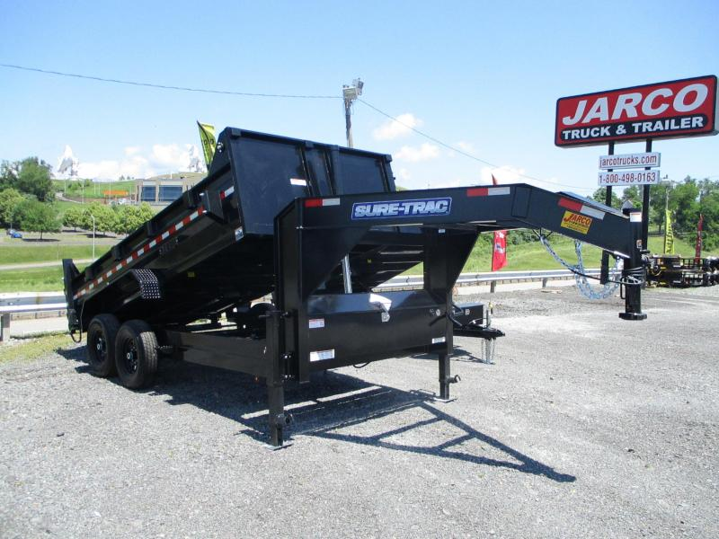 2021 Sure-Trac 82 IN x 14 HD Low Profile Gooseneck Dump