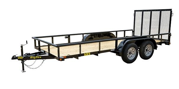 2021 Big Tex Trailers 60ES 77'' X 16 Utility Trailer