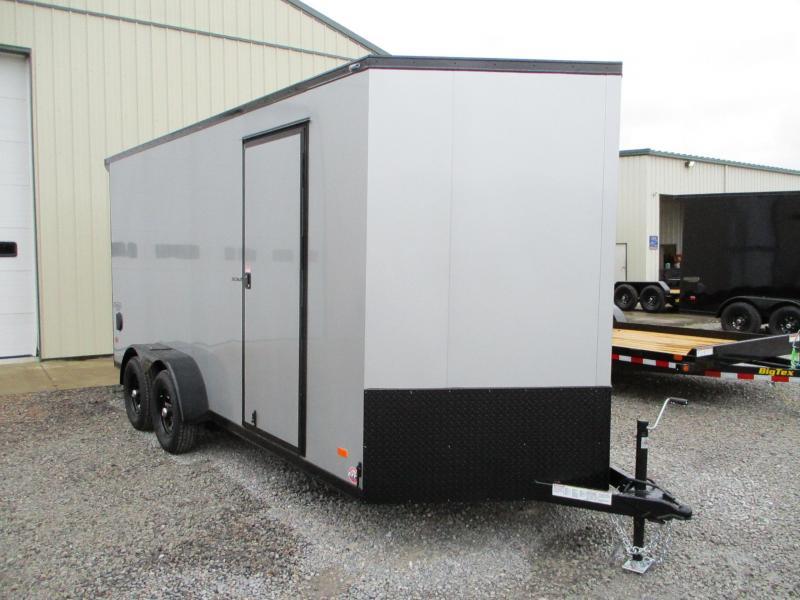 2021 Bravo Trailers Scout 7 X 16 Enclosed Cargo Trailer