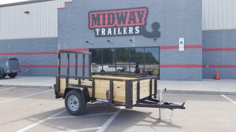 2021 Sure Trac 5'x8' Three Board 3k Utility Trailer
