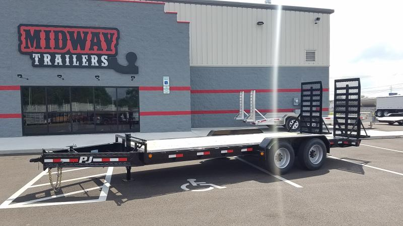 2019 Pj Trailers 7'x20' Equipment 16k Equipment Trailer