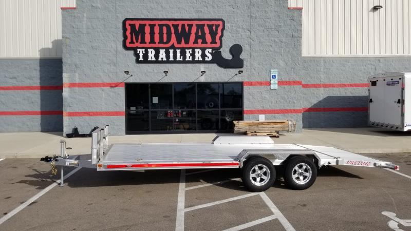2020 Triton 7'x20' Aluminum 7k Car Hauler Trailer