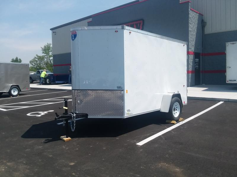 2021 Interstate 6'x10' Enclosed Barn Door Enclosed Trailer