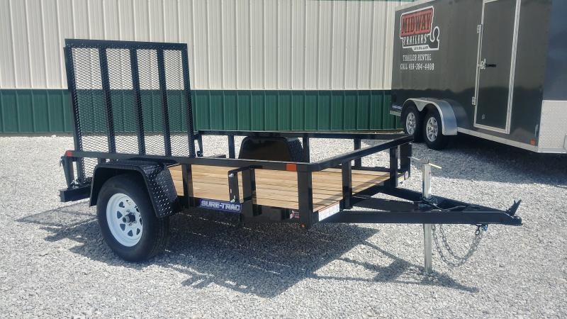 2020 Sure-trac 5x 8 Tube Top 3k Utility Trailer