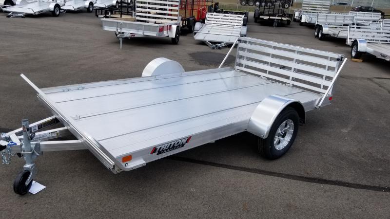 2020 Triton 7'x12' Alum 3k Utility Trailer