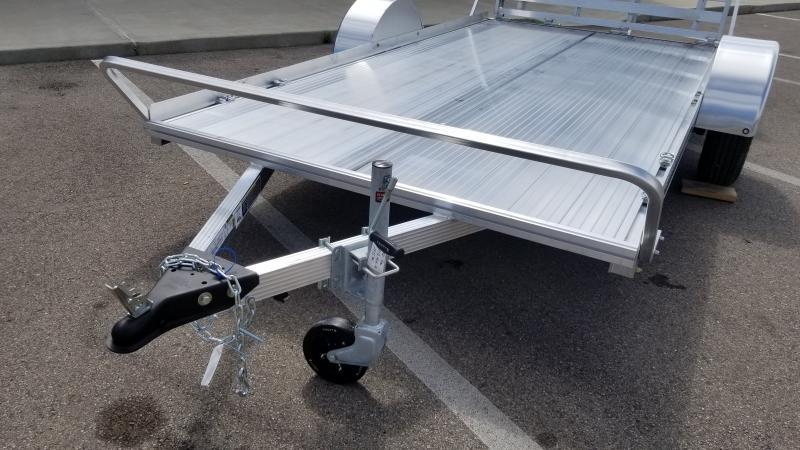 2021 Triton 6'x12' 3k Alum Utility Trailer
