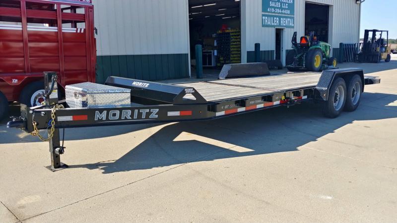 2021 Moritz International 7X16+6 GT 16K Equipment Trailer