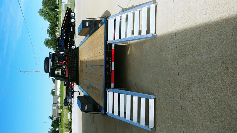 2021 Moritz International 7'X22' AR 14K GN Equipment Trailer