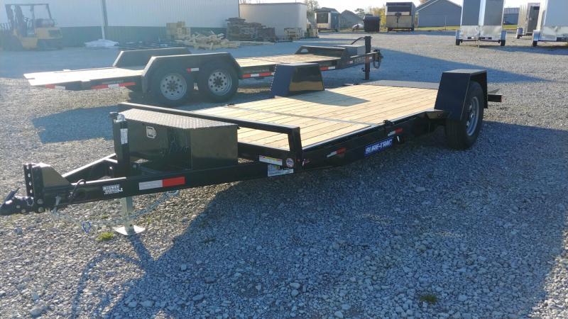 "2021 Sure-trac 78""x12'+4' Tilt 7.8k Equipment Trailer"