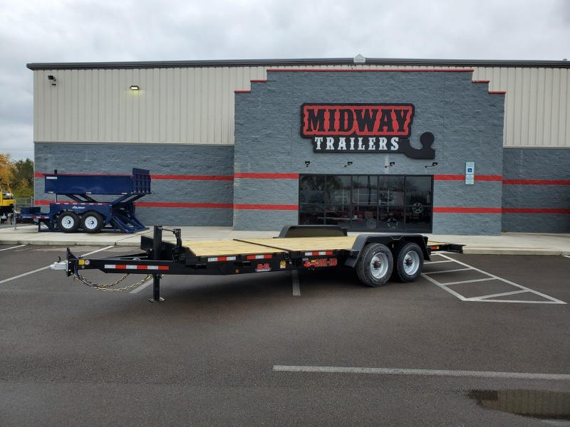 2020 B-b Trailers 7'x16'+8' Tilt 20k Equipment Trailer