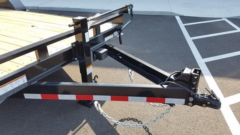 2022 Sure-Trac 7'X18' IMPLEMENT 14K UPG Equipment Trailer