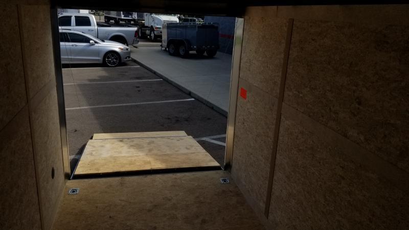 "2021 Haulmark 7'x12'+6"" Hgt 7k Charcoal Enclosed Trailer"
