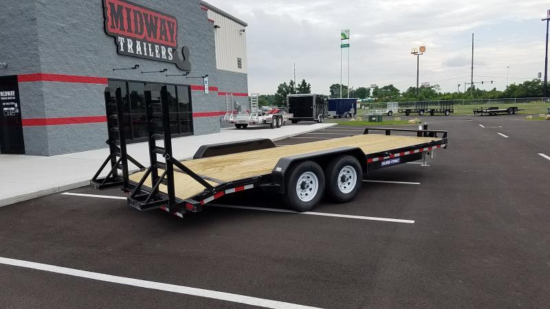 2021 Sure-trac 7'x18' Equipment 14k Std Equipment Trailer