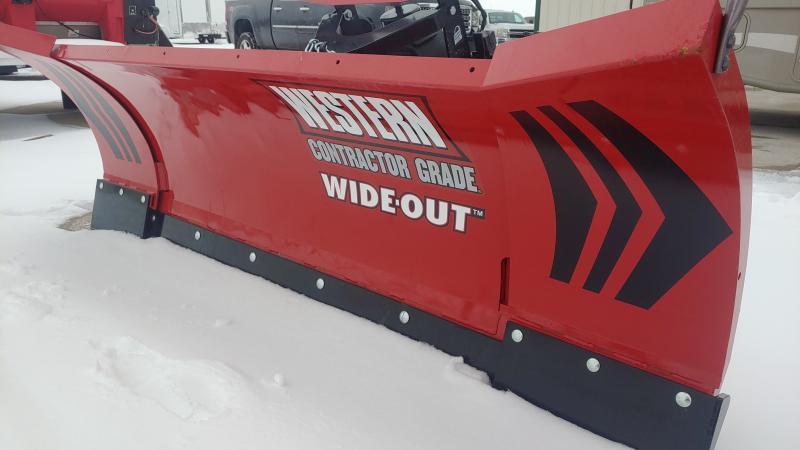 2020 Westren Wide-out 8'-10' Snowplow