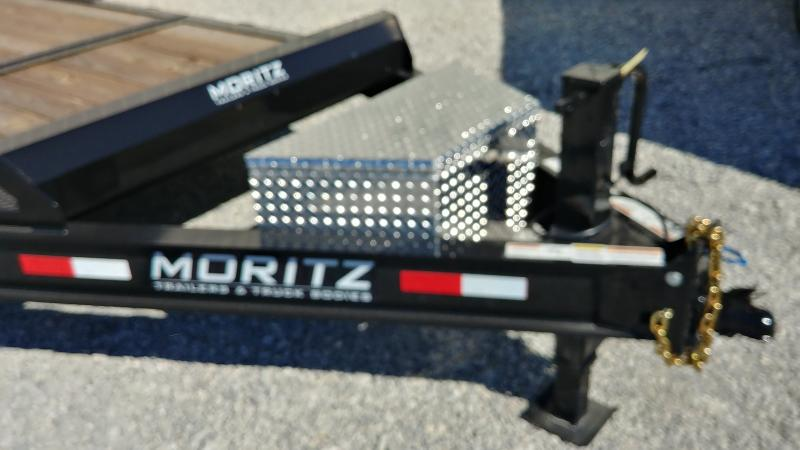 2020 Moritz 7x16+4 Gt 16k Equipment Trailer
