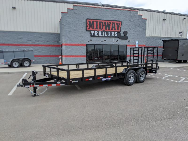 2021 Sure-trac 7'x20' Equipment 14k Hd Equipment Trailer
