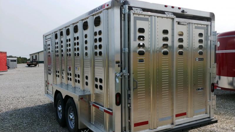 2021 Wilson 7x16 Ranch Hand 10k Bp Livestock Trailer