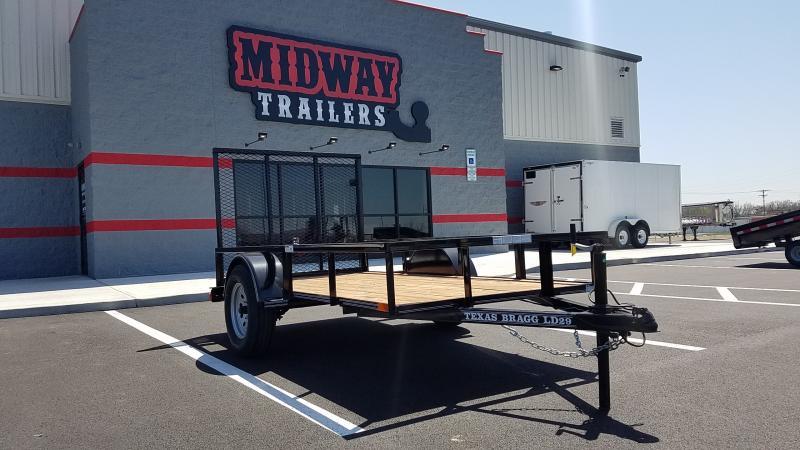 2021 Texas Bragg Trailers 5'X10' 3K UTILITY Utility Trailer