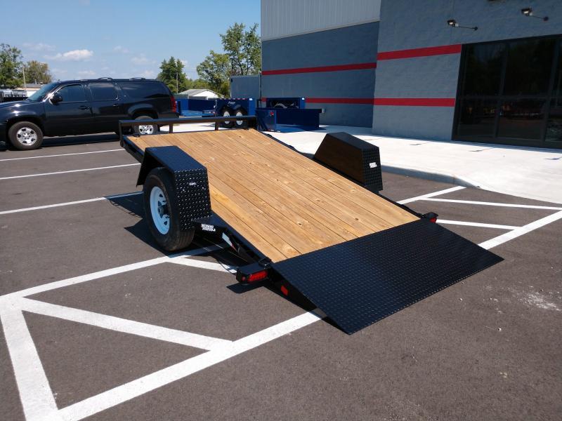 2021 Sure-trac 6.5'x12' Tilt Bed Equipment 7.8k Equipment Trailer