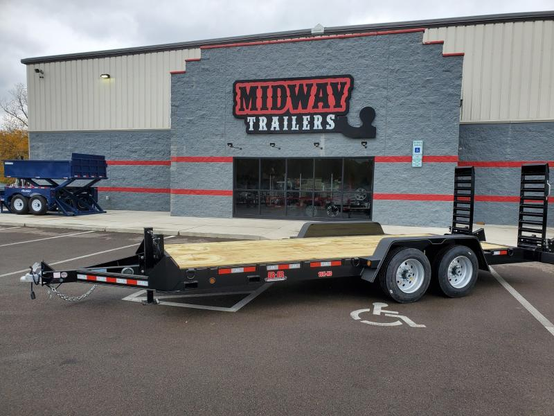 2021 B-b Trailers 7x18 Equipment 16k Equipment Trailer