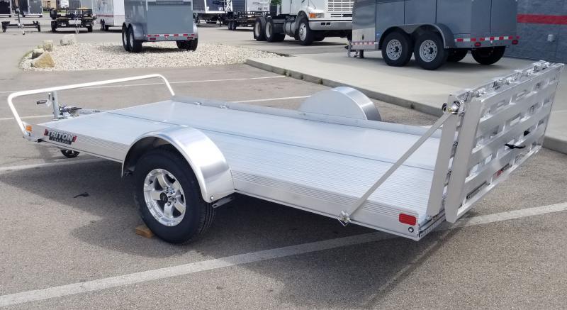 2021 Triton 6'x12' Utility 3k Alum Utility Trailer