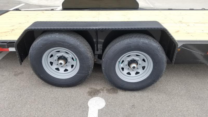 2021 Sure-trac 7'x18'+4' Tilt 14k Equipment Trailer