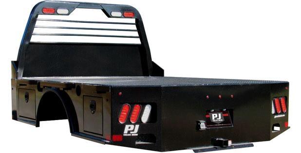 2021 PJ Trailers GS 8'6/84/58/42 RAM Truck Bodies