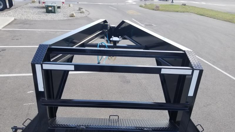 2020 Pj Trailers 8.5'x20'+5' Gn Deckover 16k Deck Over Trailer