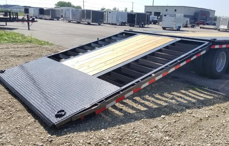 2021 Sure-trac 8.5'x22'+10' Hydro Dove 25.9k Gn Deck Over Trailer