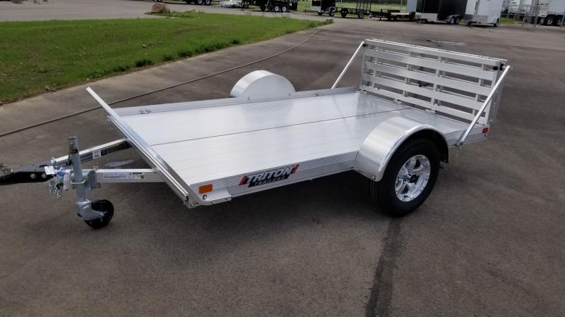 2021 Triton Trailers 6'X10' 3K ALUM Utility Trailer