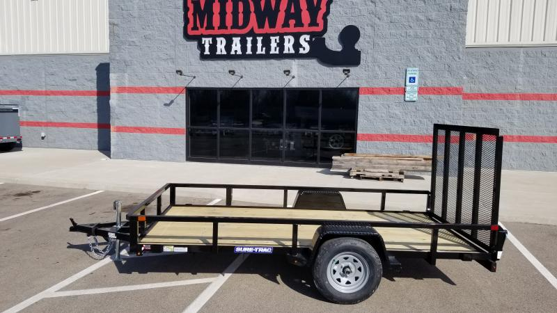 2021 Sure-trac 6'x10' 3k Tube Top Utility Trailer