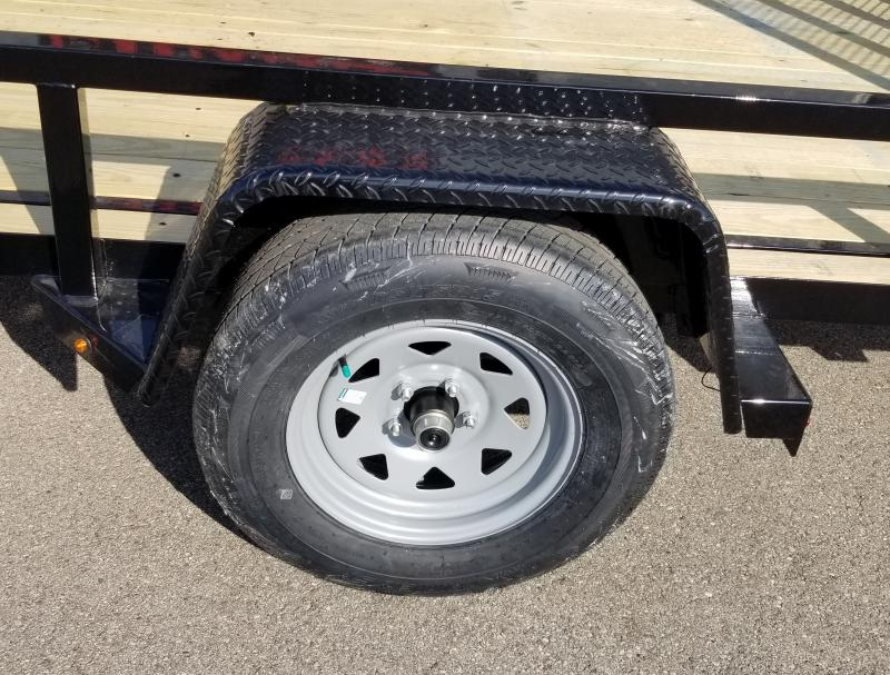 2021 Sure-trac 6'x10' 3k Tube Top Utility Trailer