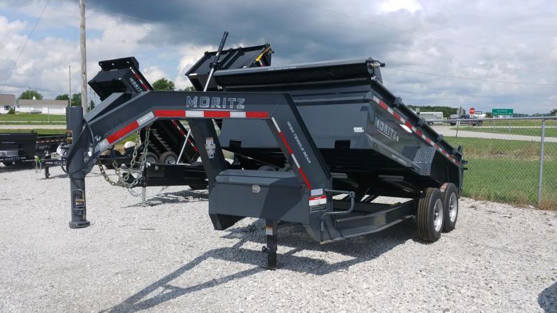2020 Moritz 7x14 Dump 16k Scissor Gn Tarp Kit Dump Trailer