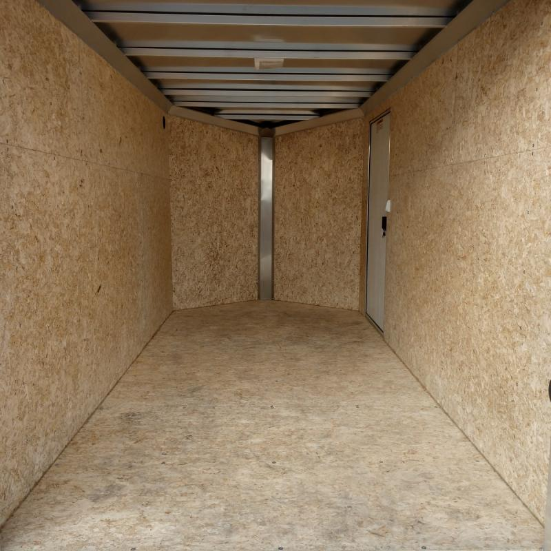 2019 Ez Hauler 6'x10' Alum 3k Charcoal Enclosed Trailer