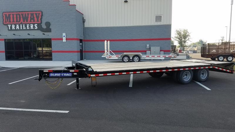 2021 Sure-trac 8.5'x20'+5' 25.9k Lp Deckover Tandem Bp Deck Over Trailer