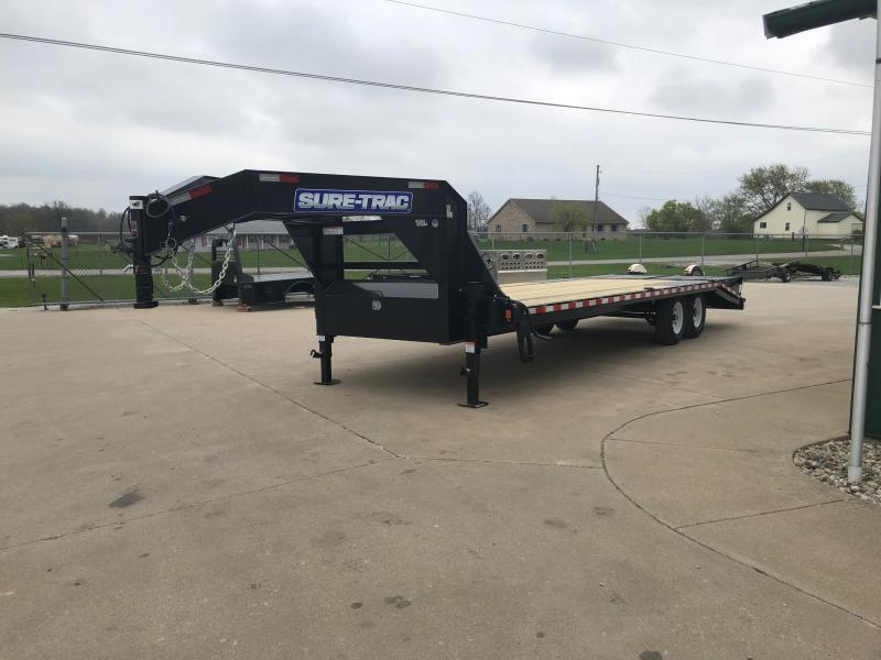 2021 Sure-trac 8.5'x20'+5' Low Pro Deckover 15k Deck Over Trailer