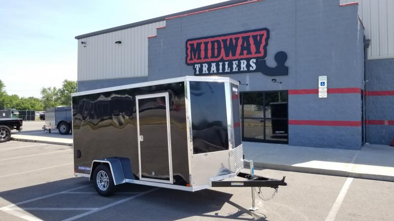 2021 Sure-trac 6'x12' P3k Black Enclosed Trailer