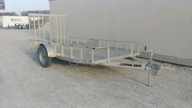 2020 Carry-on 6x12 3k Alum W/ Wood Deck Utility Trailer