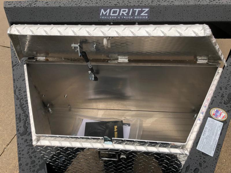 2021 Moritz International 7'X22' AR 14K Equipment Trailer
