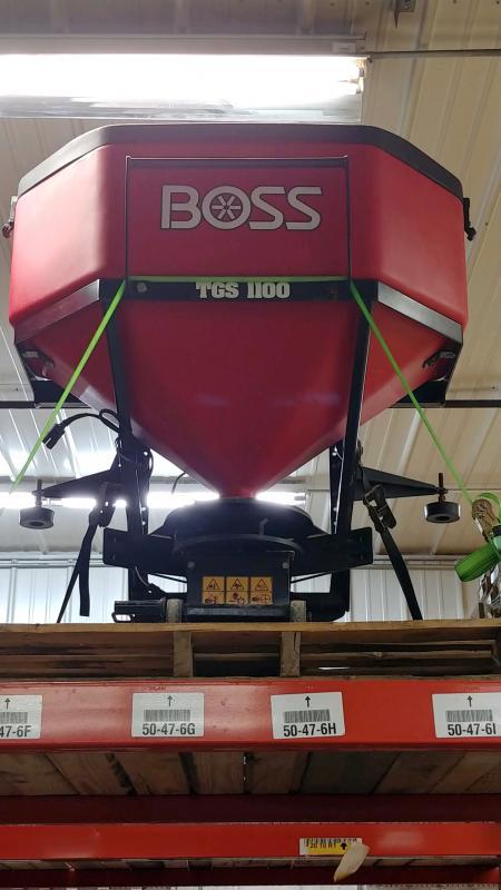 2020 Boss Tgs1100 Tail Gate Spreader Snowplow