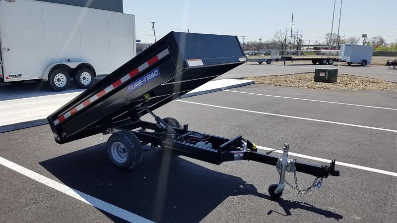 2021 Sure-trac 4.5'x8' Utility Dump Dump Trailer