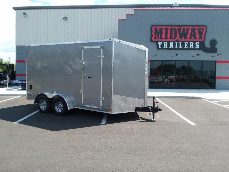 2022 Stealth 7'x14' 7k Pewter Enclosed Trailer