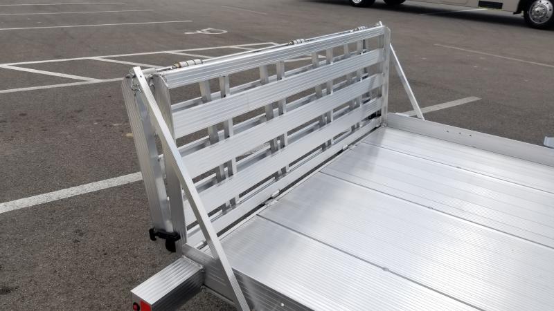 2021 Triton 6'x10' Alum 3k Utility Trailer