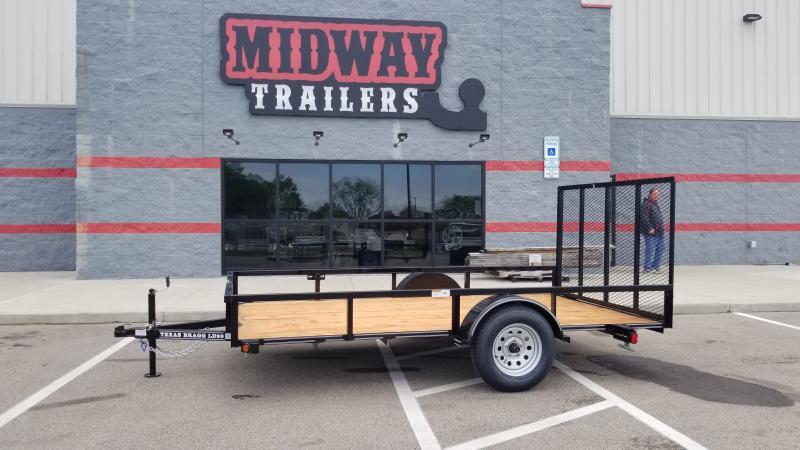 2021 Texas Bragg Trailers 6.5'X12' 3K UTILITY Utility Trailer